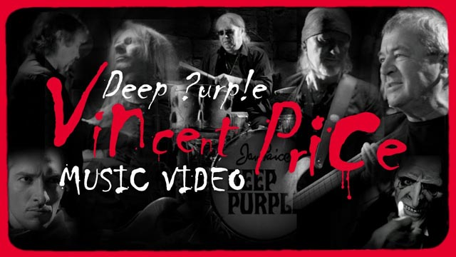 DEEP PURPLE Vincent Price